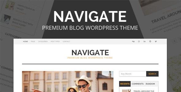 Navigate - Premium Blog Wordpress Theme - Personal Blog / Magazine