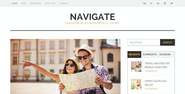 Navigate - Premium Blog Wordpress Theme