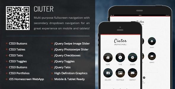 Ciuter Mobile - Mobile Site Templates