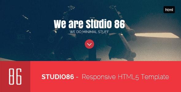 86Studio - Multi-Skin One Page HTML Template  - Business Corporate