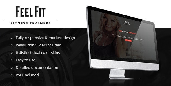 Personal Trainer – Premium Responsive Theme - Health & Beauty Retail