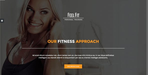 Personal Trainer – Premium Responsive Theme
