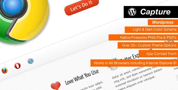 Capture - Professional Wordpress Theme - Corporate WordPress