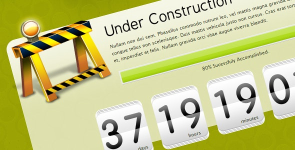 UnderFlo Constructionz - Under Construction Specialty Pages