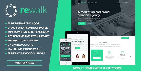ReWalk - Business WordPress Theme - Business Corporate