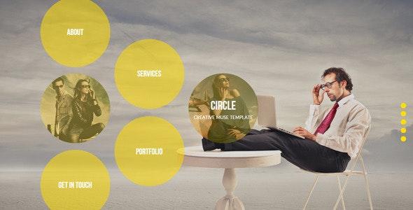 Circle - Creative Muse Template - Creative Muse Templates