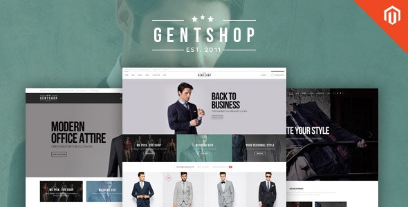 Ves GentShop - Great Fashion Magento Theme - Fashion Magento
