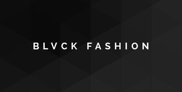 Blvck Fashion Store PSD