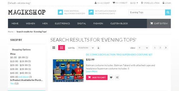 Shop - Premium Responsive OpenCart Theme