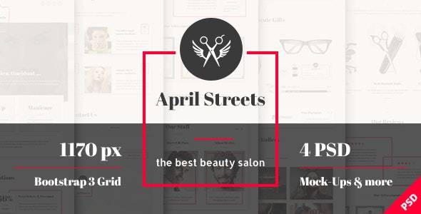 April Streets - Hair, Spa, Manicure - Beauty Salon - Health & Beauty Retail
