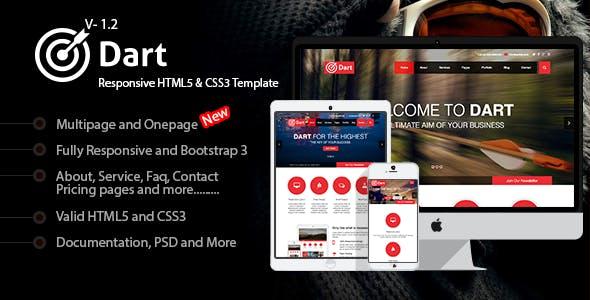 Dart - Responsive HTML5 Business Template
