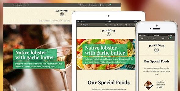 Aroma – Responsive Magento Restaurant Theme - Magento eCommerce