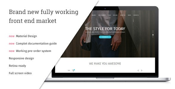 Triablo - eCommerce Landing Page - Shopping Retail