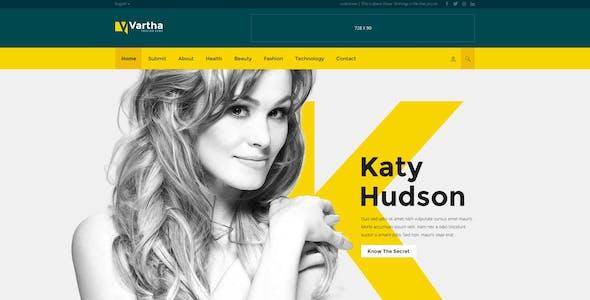 Vartha - HTML5 Magazine Template