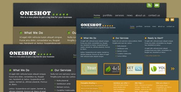 Oneshot - Portfolio/Business Template - Portfolio Creative
