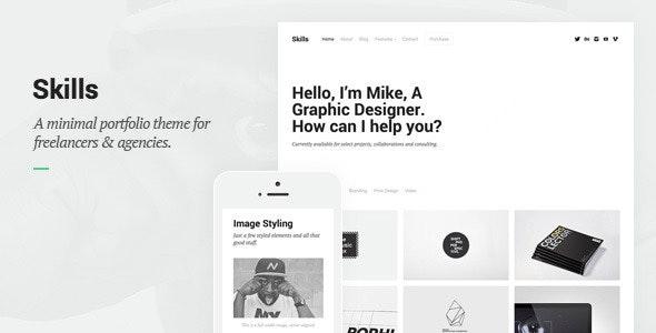 Skills - Portfolio for Freelancers & Agencies - Portfolio Creative
