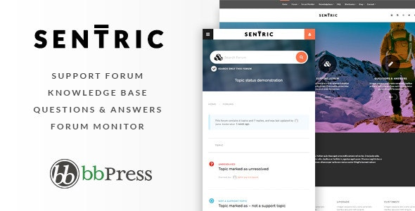 Sentric | Support Forum WordPress Theme - Miscellaneous WordPress