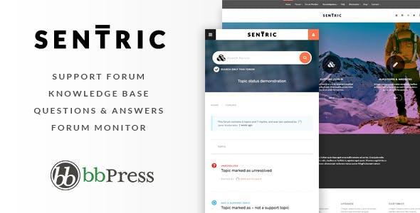 Sentric | Support Forum WordPress Theme