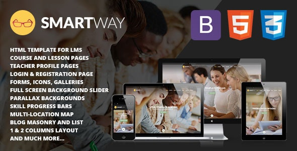 Smartway - Learning & Courses HTML Template - Retail Site Templates