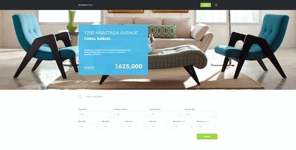 Modern Home - Real Estate Multi-Purpose Template