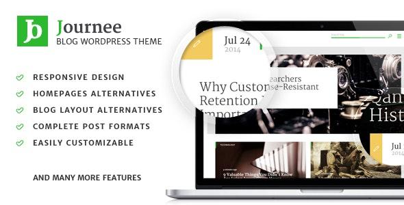 Journee - Blog & Magazine WordPress Theme - Blog / Magazine WordPress