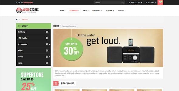 Leo Audio-Responsive Multipurpose PrestaShop Theme