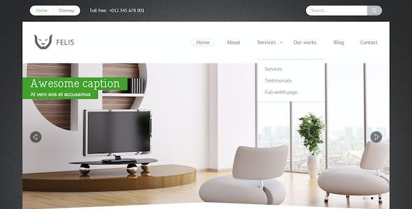 Felis - Flexible & Multipurpose PSD Theme