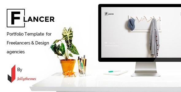 Flancer - Portfolio Template for Freelancers & Agencies - Portfolio Creative