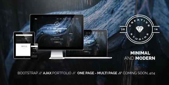Hero - Minimal Multipurpose Portfolio - Portfolio Creative
