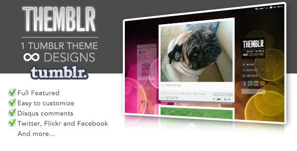 Themblr - 1 Tumblr Theme infinite designs - Blog Tumblr