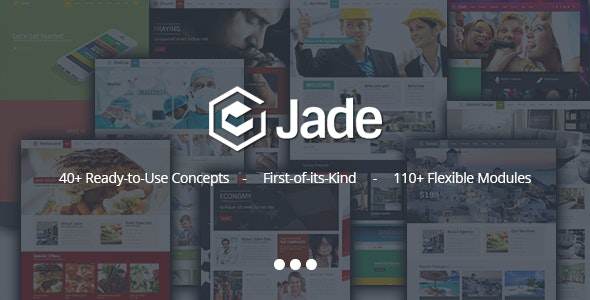 Jade - Flexible Multi Purpose Responsive Theme - Miscellaneous WordPress