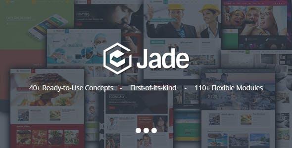 Jade - Flexible Multi Purpose Responsive Theme