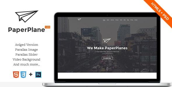 PaperPlane - HTML5 Portfolio Template - Portfolio Creative
