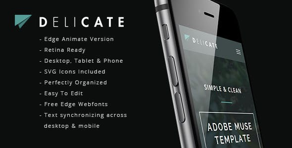 Edge Animate Templates From Themeforest