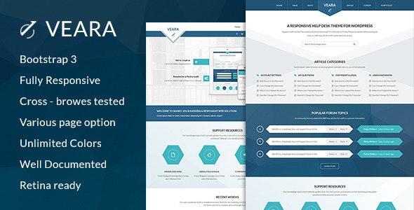 Veara Professional Multi-purpose HTML5 Template - Corporate Site Templates