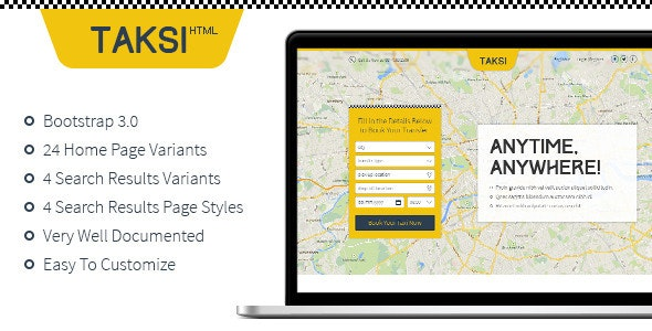 Taksi | HTML - Corporate Site Templates