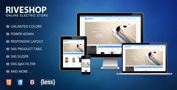 SNS Riveshop - Responsive Magento Theme - Magento eCommerce