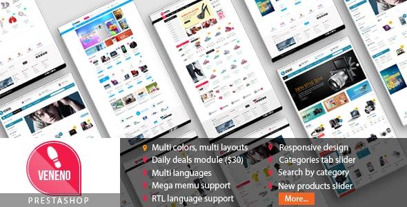 Veneno - Multipurpose Responsive Prestashop Theme - PrestaShop eCommerce
