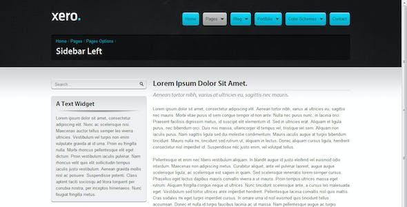 Xero Portfolio & Business HTML/CSS Site Template
