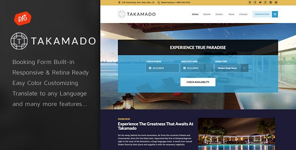 Takamado - Hotel & Resort Theme - Travel Retail