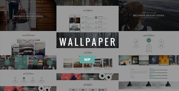 Wallpaper - Multi-Purpose Wordpress Theme - Corporate WordPress