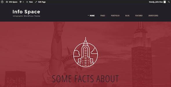 Info Space - Infographic WordPress