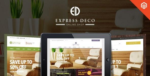 Ves Express Responsive Multipurpose Magento Theme - Shopping Magento