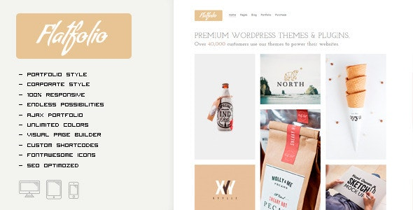 FLATFOLIO - Portfolio & Agency Theme - Portfolio Creative