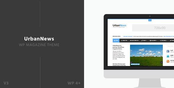 UrbanNews - WP Magazine Theme - News / Editorial Blog / Magazine