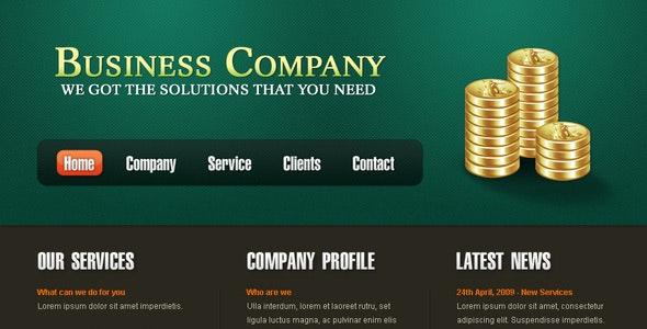 Business Template - Corporate Photoshop