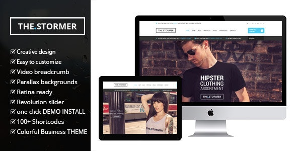The Stormer - Fashion Apparel eCommerce & WooCommerce Theme - WooCommerce eCommerce