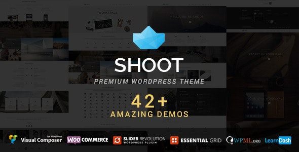 Shoot - Multipurpose & Multi Styled Theme - Creative WordPress