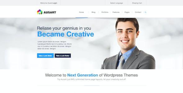 Ausart Multi-Purpose Theme Psd Theme