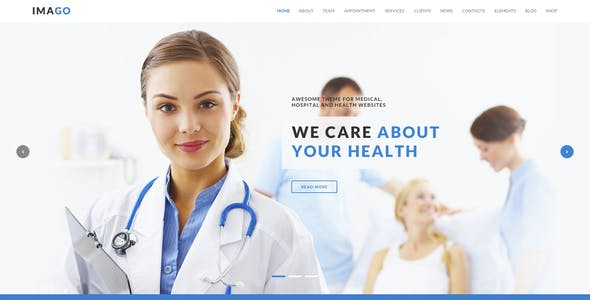 IMAGO | Multipurpose PSD Template